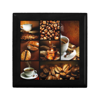 Coffee Collage 2 Gift Box