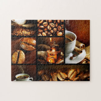 Coffee Collage 2 Jigsaw Puzzle