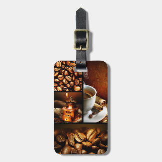 Coffee Collage 2 Luggage Tag