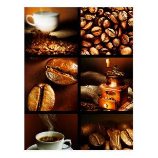 Coffee Collage 2 Postcard
