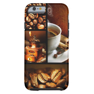 Coffee Collage 2 Tough iPhone 6 Case