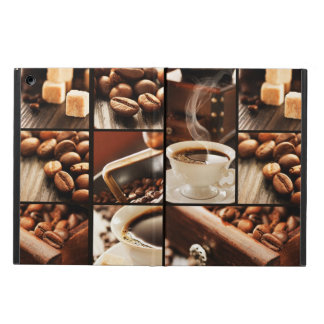 Coffee Collage iPad Air Cover