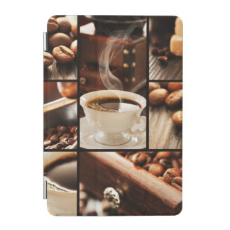 Coffee Collage iPad Mini Cover