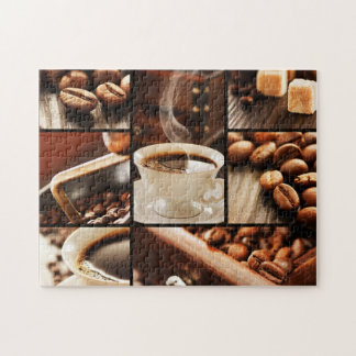 Coffee Collage Jigsaw Puzzle