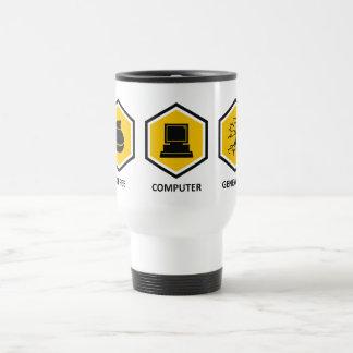 Coffee Computer Genealogy Coffee Mugs