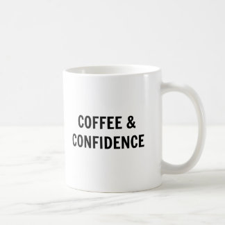 Coffee & Confidence Coffee Mug