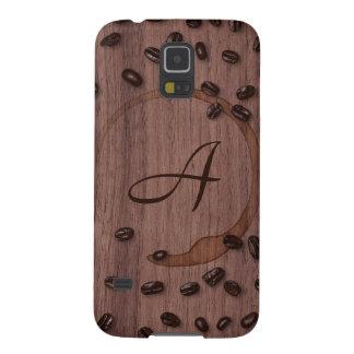 Coffee Connoisseur Monogram Galaxy S5 Cover