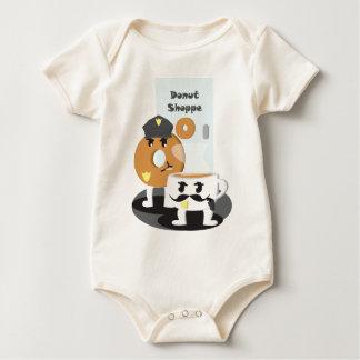 Coffee Cop Baby Bodysuit