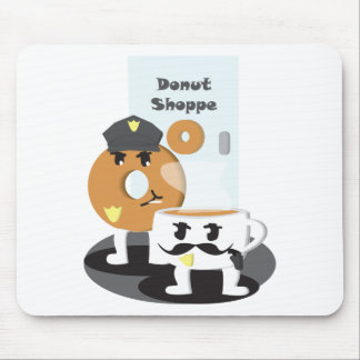 Coffee Cop Mouse Pad
