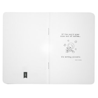 Coffee Cosmonaut Pocket Journal