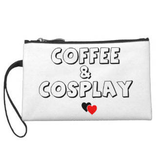 Coffee & Cosplay Wristlet