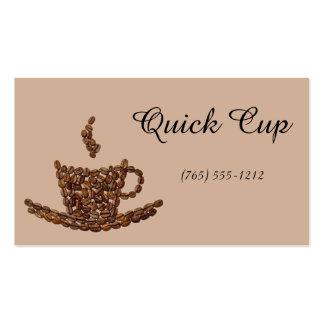 Coffee Craze Business Card