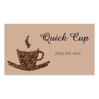 Coffee Craze Pack Of Standard Business Cards