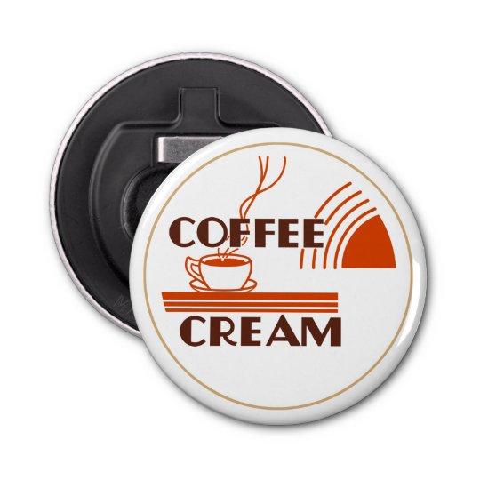 Coffee Cream Retro Dairy Milk Bottle Cap Design