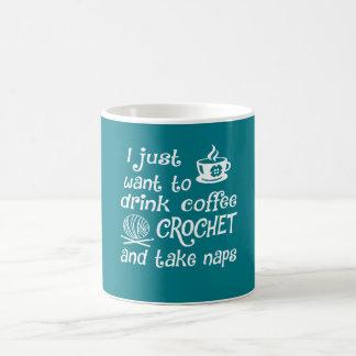 Coffee, Crochet and Naps Coffee Mug