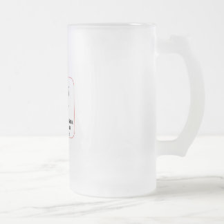 Coffee Culture Creations Frosted Glass Beer Mug