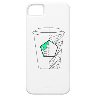 Coffee Culture Green Phone Case iPhone 5 Cover
