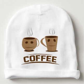 Coffee cup baby beanie