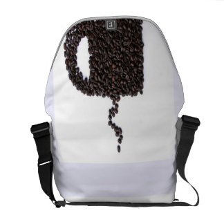 Coffee Cup, Coffee Beans Courier Bags