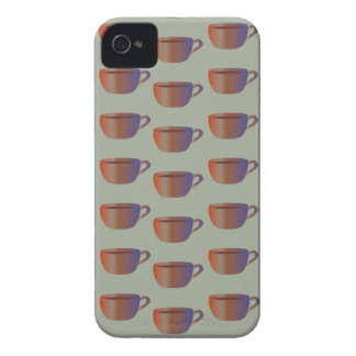 Coffee Cup Design on iPhone 4/4S Barely There Case iPhone 4 Case-Mate Cases