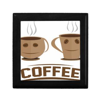 Coffee cup gift box