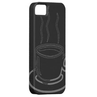 Coffee Cup Graphic Art Barely There iPhone 5 Case