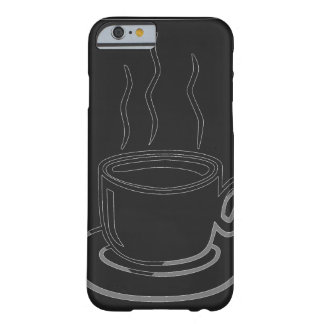 Coffee Cup Graphic Art Barely There iPhone 6 Case