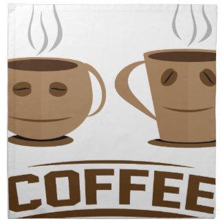 Coffee cup napkin