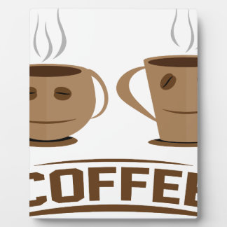 Coffee cup plaque