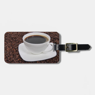 Coffee Cup Roast Delight Luggage Tag