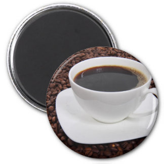 Coffee Cup Roast Delight 6 Cm Round Magnet