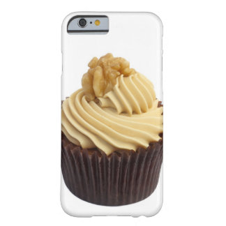 Coffee cupcake topped with coffee cream and a barely there iPhone 6 case
