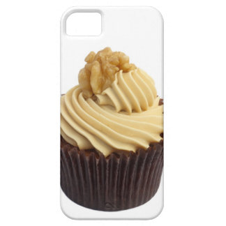 Coffee cupcake topped with coffee cream and a iPhone 5 cover