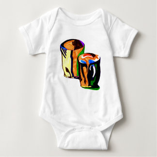 coffee cup's baby bodysuit