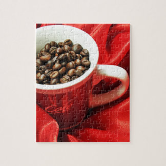 Coffee design jigsaw puzzle