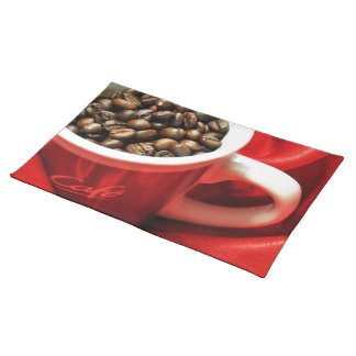 Coffee design placemat
