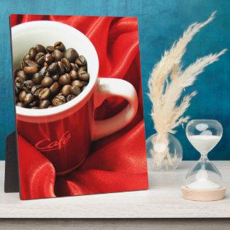 Coffee design plaque