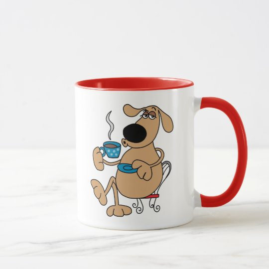 Coffee Dog 11 oz Combo Mug