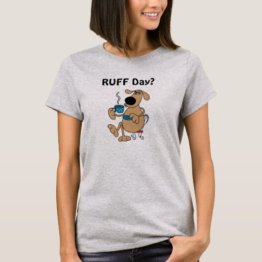 Coffee Dog Women's Basic T-Shirt