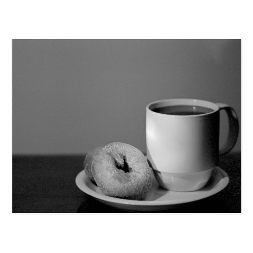 Coffee & donuts post cards