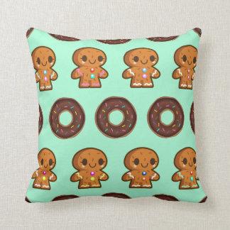 Coffee & Donuts throw cushion