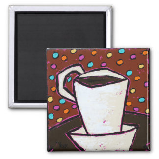 coffee dots magnet