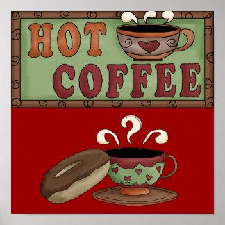 Coffee & Doughnut poster