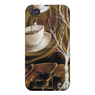 Coffee dreams cover for iPhone 4