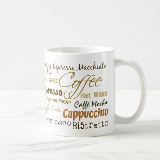 Coffee Drinks Coffee Mug