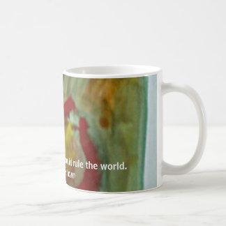 Coffee Drop, Given enough coffee, I could rule ... Coffee Mug