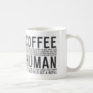Coffee elixir gladiator power strength MA019 Coffee Mug