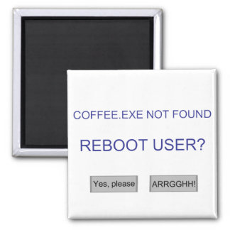 Coffee exe magnets