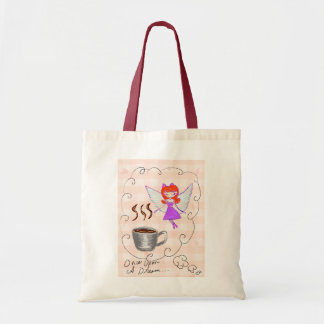coffee fairy canvas bags