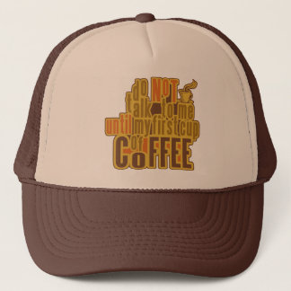 COFFEE FIRST hat - choose color